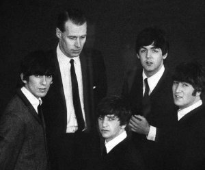 george martin con i beatles